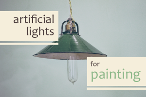 Artificial Lights for Painting