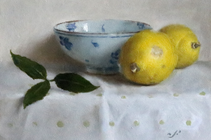 Lemons, Bay Leaves and Chinese Bowl