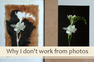 Why I Don't Paint from Photographs