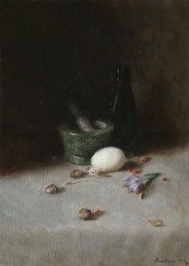 Still Life with Duck Egg