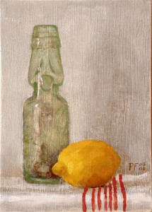 Lemon and Bottle