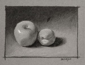 Apple and Apricot
