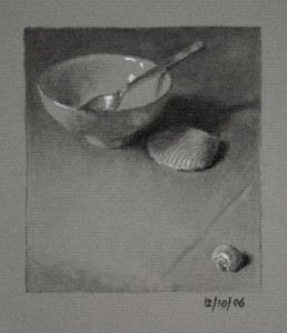 Chinese Bowl and Shells