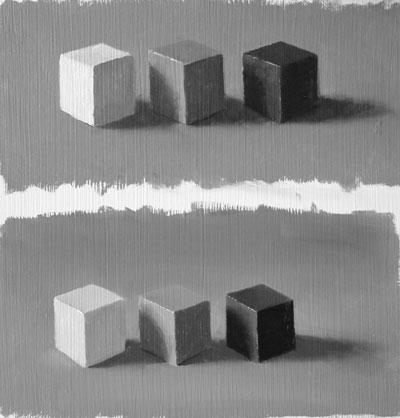 Three cubes twice