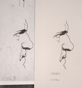 Bargue Copies - plate 3 drawing 5