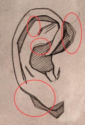 Tracing of drawing 1