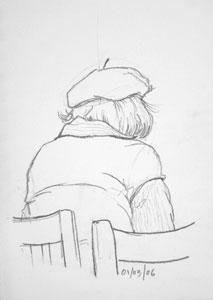 cafe sketch 31