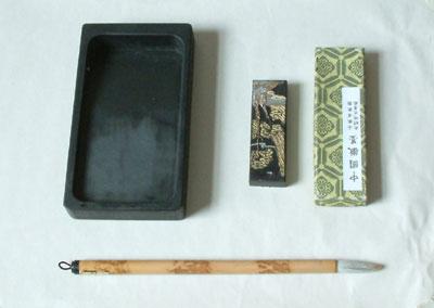Chinese drawing materials