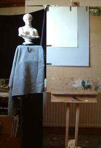 Clytie One, work in progress 1