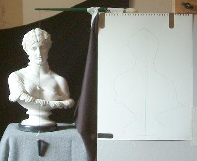 Clytie One, work in progress 3
