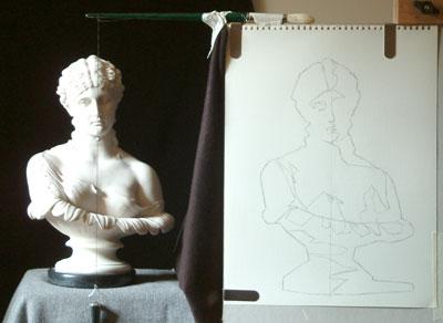 Clytie One, work in progress 5