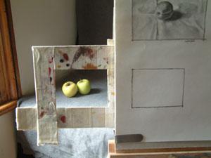 apples, work in progress 1