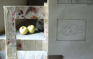 apples, work in progress 2