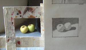 apples, work in progress 4