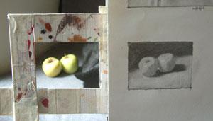 apples, work in progress 5