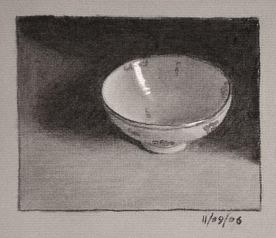 Still life drawing number twenty-three - chinese bowl