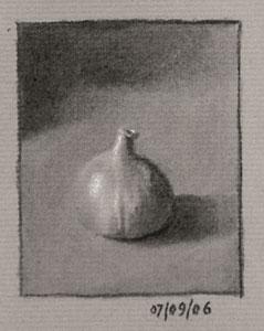 Still life drawing number nineteen - fig