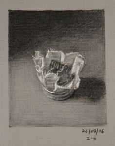 Still life drawing number Thirty-three - Violin Rosin