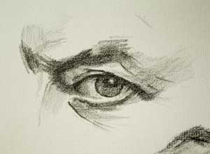 Eye drawing number one