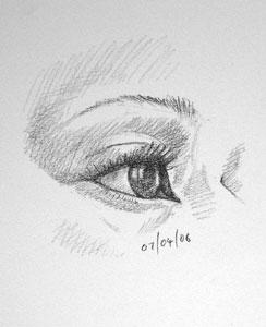 Eye drawing number Twelve