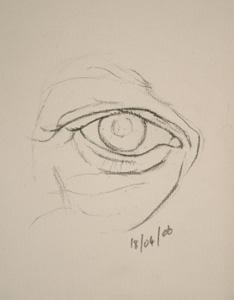 Eye drawing number sixteen