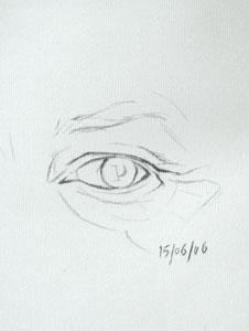 Eye drawing number seventeen