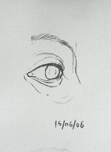Eye drawing number eighteen