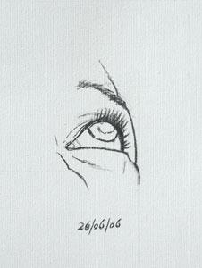 Eye drawing number twenty