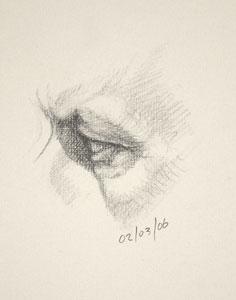 Eye drawing number nine