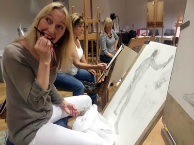 Julie Douglas drawing