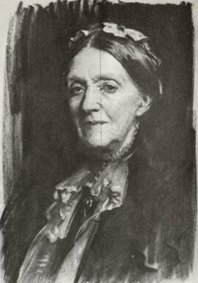 Sargent Portrait Copy - Lady Sarah Spencer