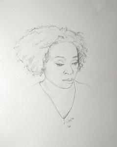 Portrait of Michlle - 14th April 2006