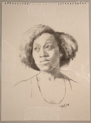 Very bad portrait of Michelle