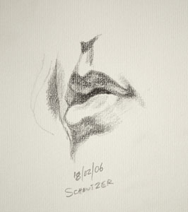 Mouth drawing number one