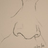 Nose drawing ten