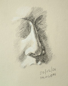 Nose drawing number four