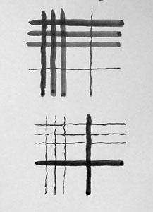 practising opposition: plaid designs.
