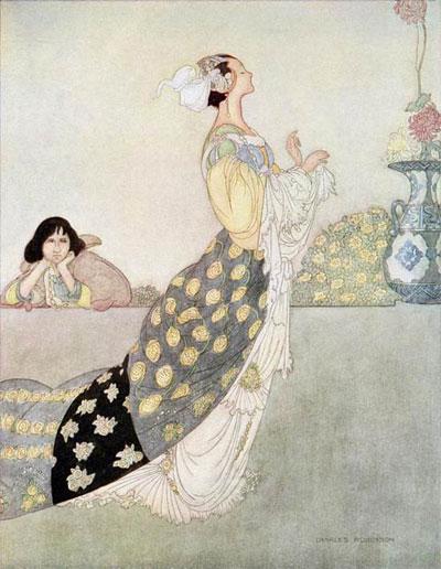 Illustration by Charles Robinson.