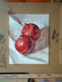 pomegranates stage 2