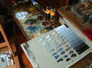 prepared palette