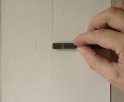 Sargent Portrait Copy - checking the measurement 2