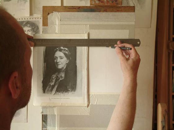 Sargent Portrait Copy - Step 3