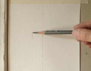Sargent Portrait Copy - holding the pencil