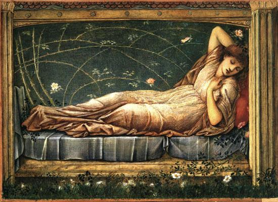 Sleeping Beauty - Burne-Jones.