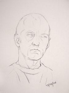 Self Portrait - 3rd May 2006
