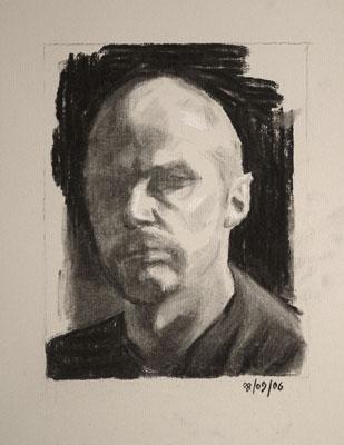 Self Portrait - 8th September 2006