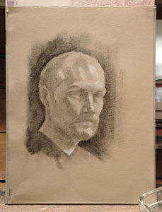 Self portrait - day two