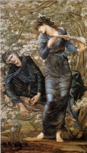 The Beguiling of Merlin - Burne-Jones.