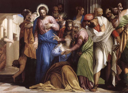 Veronese, The Conversion of Mary Magdalena