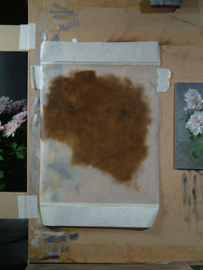 Step 3 - tranferring the drawing to the panel